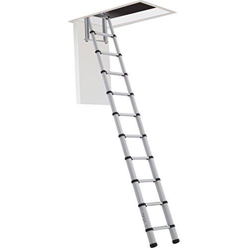 Zarges zartelemas383,8m escalera telescópica de Telemaster–Plata, plateado, ZARTELOFT288