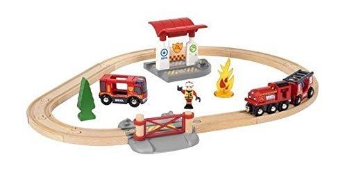 Brio Rail Firefighter Set