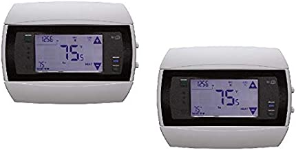 SET OF 2 Radio Thermostat CT50 7-Day Programmable Thermostat (WiFi Enabled), iOS & Android App Controls