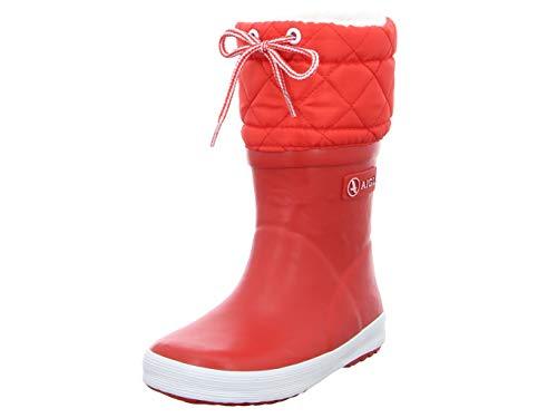 Aigle Unisex-Kinder Giboulée Gummistiefel Rot (rouge / blanc 8) 37 EU