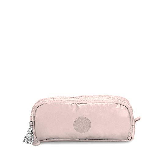 Kipling Gitroy Pencil Case Metallic Rose