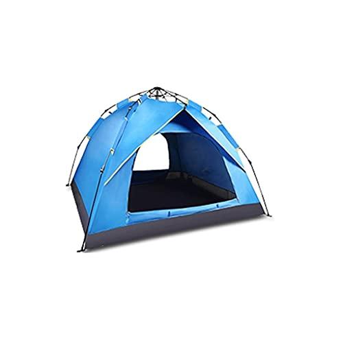 ZHONGTAI Tienda automática portátil Camping Tienda de campaña Espesada y Tienda de Sol para la Familia al Aire Libre Senderismo Montañismo Tienda de campaña Shelter