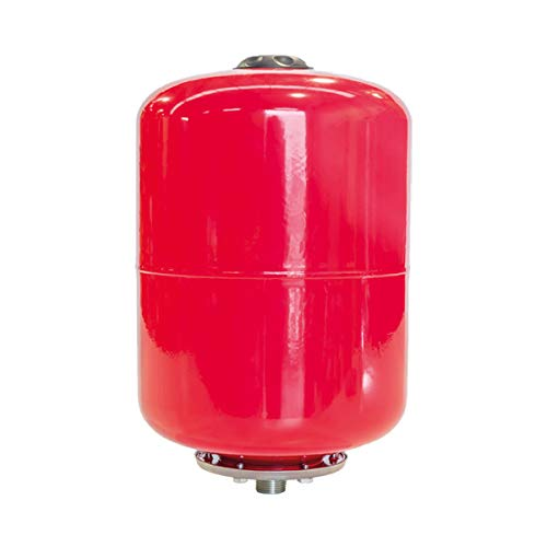 Bricoferr BFP01 Vaso De Expansión, Capacidad 25L, Rojo