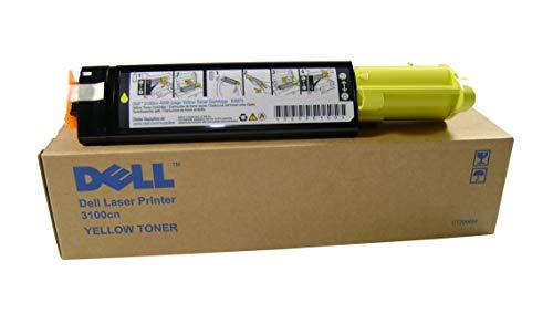 Dell 3100CN TONER GELB 4.000 SEITEN #593-10063, Kapazität: 4.000