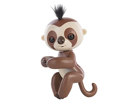 Fingerlings Baby Sloth - Kingsley (Brown) - Interactive Baby Pet - by...