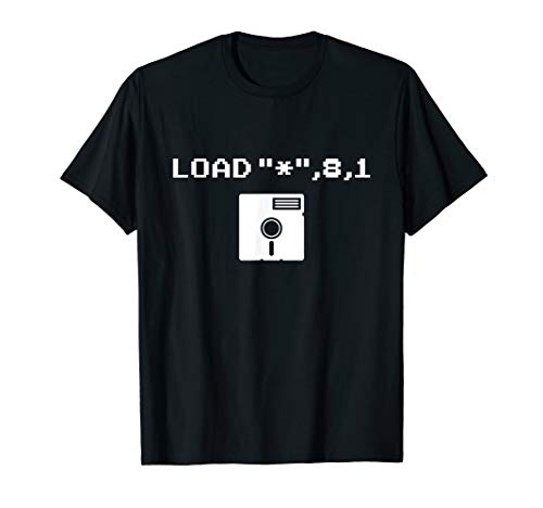 Retro Floppy Disk Ladebildschirm Computer Nerd Geschenk T-Shirt