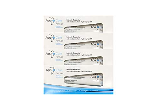 4x ApaCare Repair Intensiv-Reparatur Gel Zahncreme 30ml
