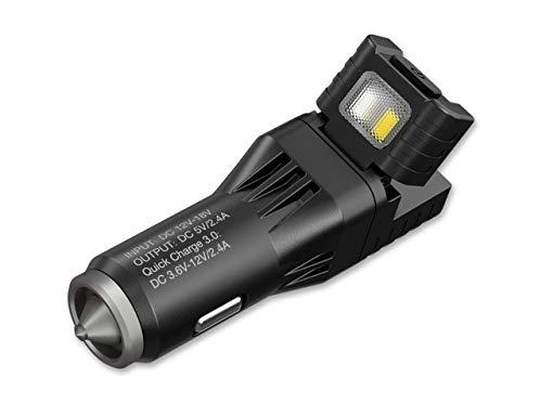 Nitecore Unisexe - Adulte VCL10 Tout-en-Un Accessoires   Lampe de Poche Noir Taille