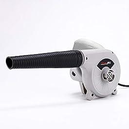 KKmoon Souffleur Électrique Ventilateur à air 600W Nettoyage Ménage avec Sac Recueil pour Auto Véhicules Jardin…