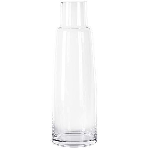 Große Bodenvase 48cm hoch (Mundgeblasen/Handarbeit) Glasvase Vase XXL Blumenvase aus Glas