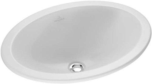 Villeroy & Boch Loop & Friends 615530R1 Lavabo encastrable avec revêtement CeramikPlus Blanc 66 x 47 cm