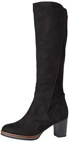 MARCO TOZZI Damen 2-2-25522-25 Langschaftstiefel Kniehohe Stiefel, Black, 38 EU