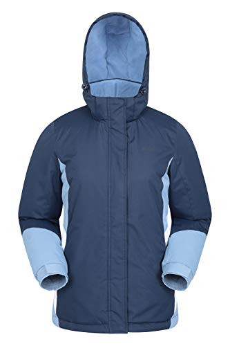 Mountain Warehouse Moon Womens Ski Jacket - Warm Winter Snow Coat Navy 10