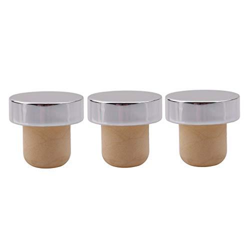 PULABO Weinverschluss Weinverschluss Flaschenverschluss Flaschenverschluss Flasche 3 Praktisch und beliebt dauerhaft