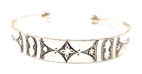 ChiCies Tuareg Armreif aus 925er Silber (Muster 7)