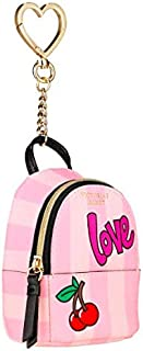 VICTORIA SECRET - SOLD OUT - PINK - CHARM - HANGING KEYCHAIN MINI BACKPACK BEACH BAG CLIP