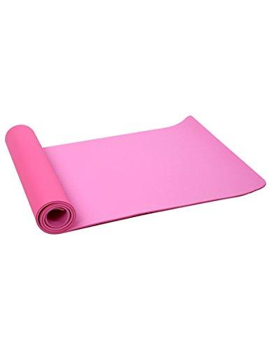 gomma TPE insapore antiscivolo Tappetino yoga Fitness opaco, colore facoltativo