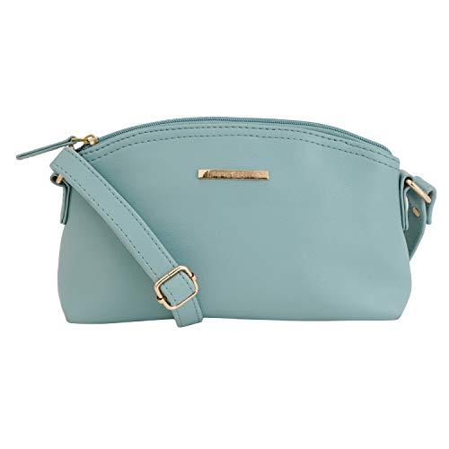 Lapis O Lupo Women's Sling Bag (LLSL0026LT_Light Turquoise)