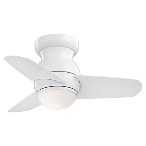 Minka-Aire F510L-WH Spacesaver 26 Inch Small Ceiling Fan with...