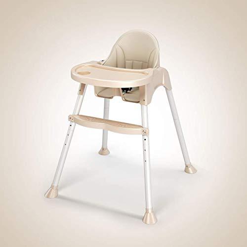 WYJW Draagbare Baby Kinderstoel voor het eten Afneembare Todller Booster Stoel met Lade voor Eettafel Reisstoel (Kleur : GREEN)
