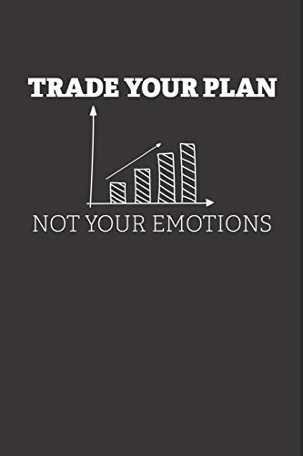 Notizbuch: Aktien, ETF, Fond, Reit und Anleihen Notizen für jeden Trader, Aktienhändler oder Privatanleger ♦ über 100 Seiten für alle Notizen, Kurse, ... 6x9 Format ♦ Motiv: Trade your plan 2