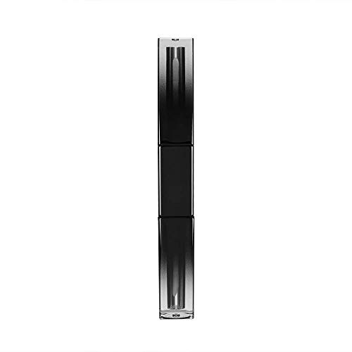 N\C 5 tubos de brillo de labios cuadrados de 6 ml de degradado de doble cara vacíos para esmalte de labios, tubo para delineador de ojos, lápiz labial rellenable para sombra de ojos