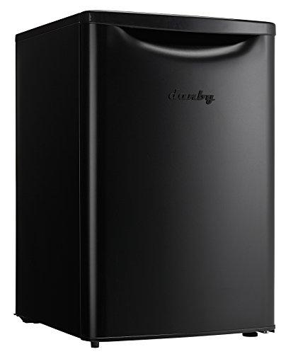 Danby E14001J Refrigeradores Compacto, 2.6 pies cúbicos, color, Negro, pack of/paquete de 1