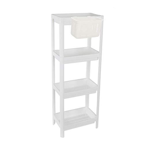 Yxx max Storage Organiser Household Storage Rack Washing Shampoo Shower Gel Bathroom Supplies Storage Shelf Landing (Size : Four Layer)