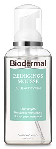 Biodermal Reinigingsmousse - Reinigt, verwijderd make-up en hydrateert diep zonder de huid uit te drogen - 150 ml