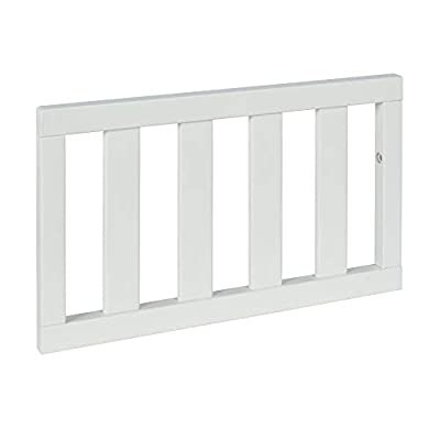 Baby Relax Colton Easy Assembly Toddler Guardrail, White