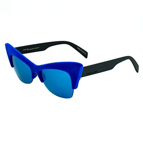 italia independent 0908V-022-000 Gafas de sol, Azul, 59 para Mujer