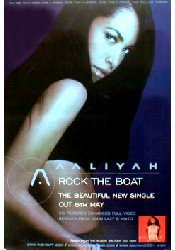 Aaliyah–Rock The Boat (Q) (K)–100x 150cm zeigt/Poster