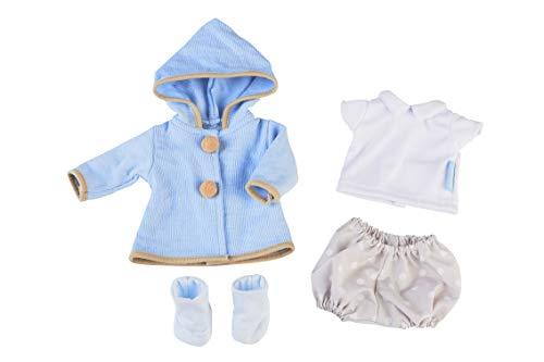 Nenuco- Ropita de Paseo, para muñeco de 35 cm, Color Azul (Famosa 700015618)