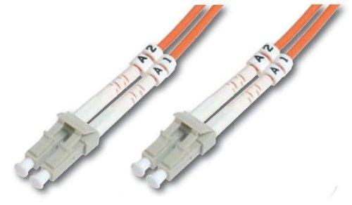 Cable de conexión DIGITUS LWL OM1 - Cable de fibra óptica LC...