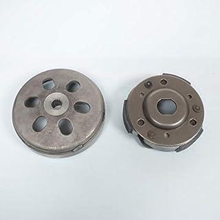 one by Camamoto cod 77287621 coperchio campana frizione trasmissione diametro 105mm compatibile con aprilia // beta // mbk // yamaha //malaguti // benelli italjet AP8206135 Malaguti r.o Aprilia r.o 72601700