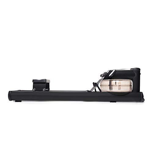 WaterRower Vogatore M1 LoRise Nero - 100% Professionale - tubolari in Acciaio - Monitor S4 - Pieghevole - 17 Litri di Acqua