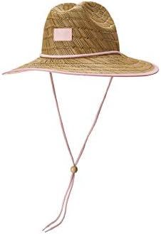 Roxy Kids Girl s RG Tomboy Straw Sun Hat Little Kids Big Kids Pink Mist One Size product image
