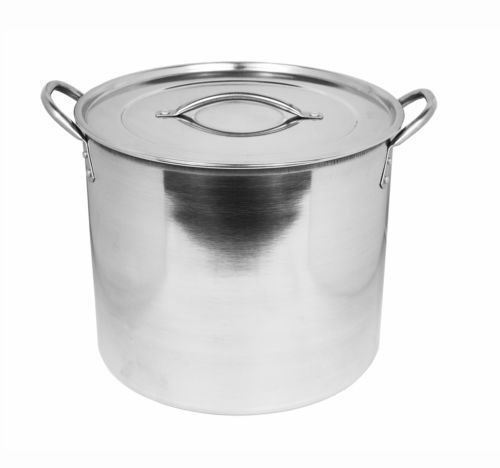 Picture of Imperial Stainless Steel Stock Pots Casserole Soup Stew Pot & Lids (5.5 Litre/23cm) by Get Goods