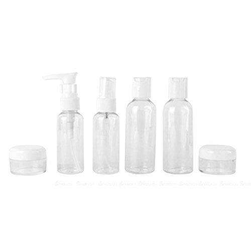 dailymall 6pcs Vaporisateur Flacon de Parfum Vide Rechargeable