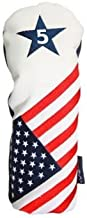 USA #5 Metal Fairway Wood Headcover Patriot Golf Limited Edition Patriotic Head Cover