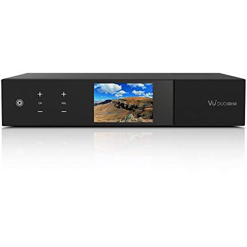 VU+ Duo 4K SE 1x DVB-S2X FBC Twin / 1x DVB-C FBC Tuner PVR Ready Linux Receiver UHD 2160p, ohne Festplatte
