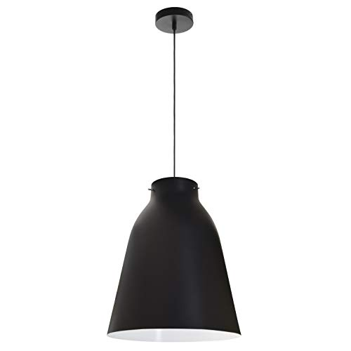 EXO Lighting - Lámpara colgante OLIVIA en negro E27