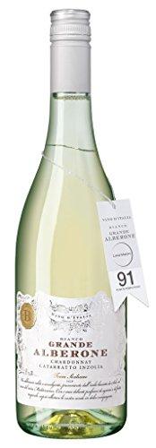Grande Alberone - Chardonnay Weißwein Italien Sommerwein Sizilien 13% Vol. - 0,75l