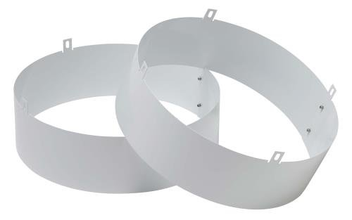 Quest Supply Air Duct Collar for Overhead Style Dehumidifier - 105, 155, 205, 225 Only