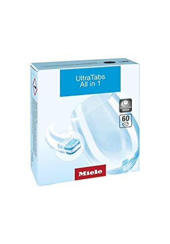 Miele GS CL 0606 T UltraTabs All in One Pastillas para lavavajillas, 60 Tabs