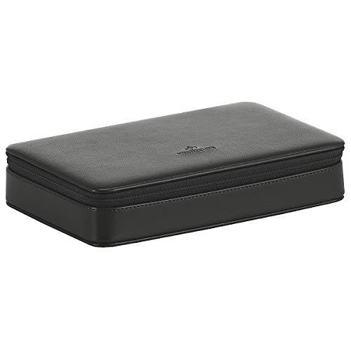 Windrose Merino Charmbox 23 cm schwarz
