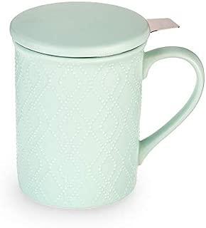 Pinky Up 9442 Annette Souk Tea Mug & Infuser, One Size, Mint