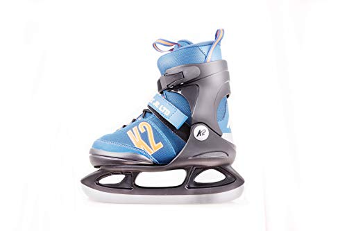 K2 Skate Jungen Merlin Ice Schlittschuhe, Blau, M/US 1-5/EU 32-37