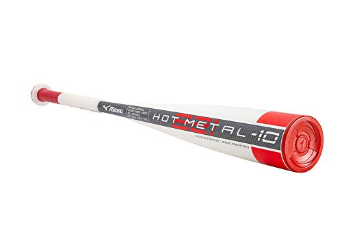 Mizuno B21-HOT METAL - Big Barrel Youth USSSA Baseball Bat (-10) , 29 in/19 oz.
