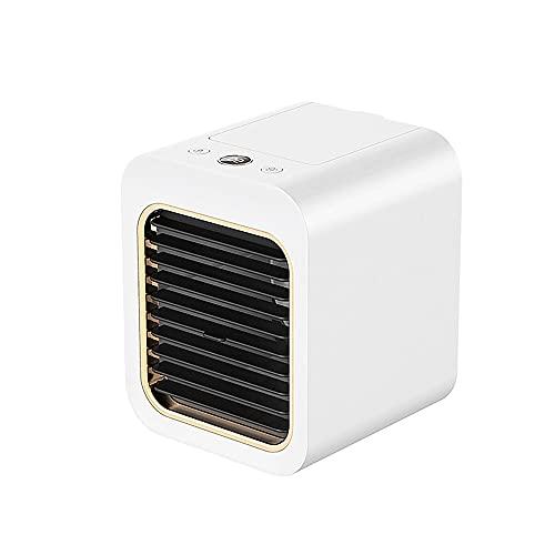 Kfhfhsdgsaxfs Ventilador Pequeño, Ventilador de aire acondicionado portátil Ventilador de humidificador de escritorio de humidificador de verano refrigerador de aire personal USB Ventilador de aire ac